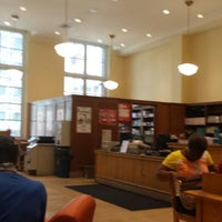 Photo taken at New York Public Library - George Bruce Library by George R. on 7/16/2013