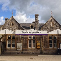 Photo taken at Weston-super-Mare Railway Station (WSM) by Michael R. on 8/14/2014