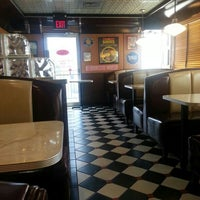 Photo taken at Moonlite Diner by Claudia C. on 4/13/2013