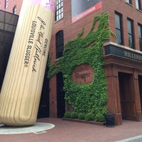 Photo taken at Louisville Slugger Museum & Factory by Bill C. on 5/18/2013