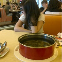 Photo taken at Shabu Slim Kelapa Gading Mall by Billy H. on 10/26/2012
