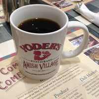 Photo taken at Yoder's Restaurant by Julius Droolius on 1/4/2013