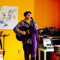 Photo taken at Umi Café by Amanda C. on 5/16/2014