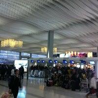 Photo taken at Terminal 2 by Olga A. on 1/2/2013