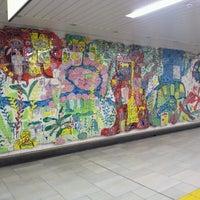 Photo taken at Kita-sando Station (F14) by Mickey M. on 5/2/2013
