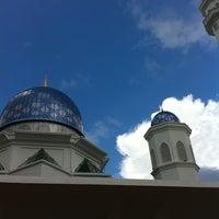 Photo taken at Masjid Abdullah Fahim by Fatimah M. on 11/24/2012