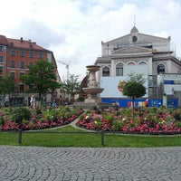 Photo taken at Gärtnerplatz by Axel S. on 7/5/2013