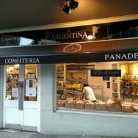 Photo taken at Panadería La Argentina by J. Pablo V. on 10/31/2016