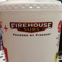 Photo taken at Firehouse Subs by wjcollier3 on 2/11/2014