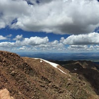 Photo taken at Pikes Peak by Christopher P. on 7/23/2015