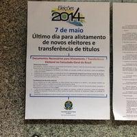 Photo taken at Consulado do Brasil no Porto by Raphael S. on 4/28/2014