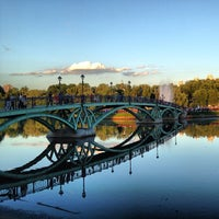 Photo taken at Tsaritsyno Park by South_Port on 6/13/2013