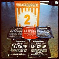Photo taken at Whataburger by Luke W. on 2/3/2014