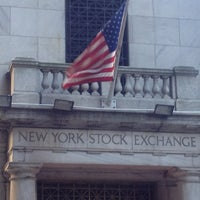 Photo taken at New York Stock Exchange by Ricky S. on 9/23/2012