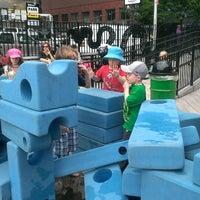 Photo taken at Imagination Playground at Burling Slip by Kristine G. on 6/8/2013