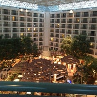 Photo taken at Hyatt Regency San Francisco Airport by Jonathan J. on 12/5/2012