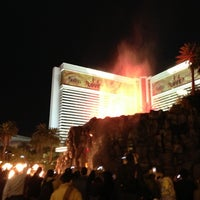 Photo taken at The Mirage Waterfall by Edwin K. on 11/28/2012