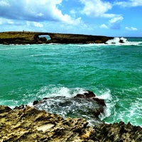 Photo taken at Laie Point by George N. on 7/10/2013