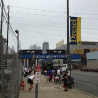 Photo taken at BoltBus Stop by Valerie H. on 5/22/2013