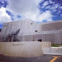 Photo taken at 沖縄県立博物館・美術館 by Yuichi K. on 6/30/2013