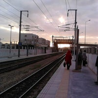 Photo taken at Gare Tahar Sfar by Nabil B. on 12/27/2012