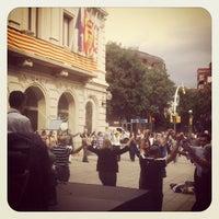 Photo taken at Ajuntament de Les Corts by Jorge M. on 10/13/2012