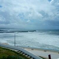 Photo taken at Praia do Norte by João S. on 5/8/2016
