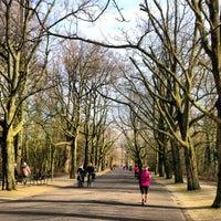 Photo taken at Vondelpark by Jaakko K. on 2/17/2013