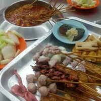 Photo taken at Ban Lee Siang Sate Celup by Jason T. on 11/3/2012