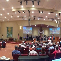 Photo taken at First United Methodist Church by Justin C. on 4/28/2013