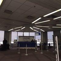 Photo taken at Gate B21 by Tim J. on 1/12/2014