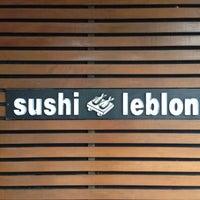 Photo taken at Sushi Leblon by Daniel M. on 11/27/2012
