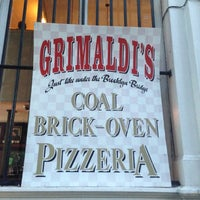 Photo taken at Grimaldi's Pizzeria by Yani I. on 10/2/2012