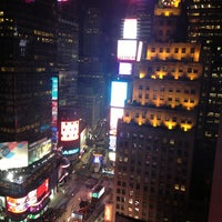 Photo taken at New York Marriott Marquis by Yani I. on 12/31/2012