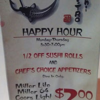 Photo taken at Sushi Bistro by Amber on 2/28/2013