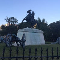 Photo taken at Andrew Jackson Statue by David G. on 9/14/2016