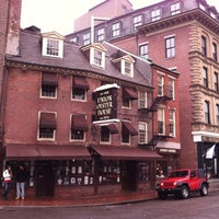 Photo taken at Union Oyster House by Dale S. on 12/8/2012