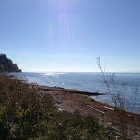 Photo taken at Crescent Beach by Robbie B. on 10/7/2012