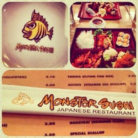 Photo taken at Monster Sushi by Chelsea I. on 7/4/2013