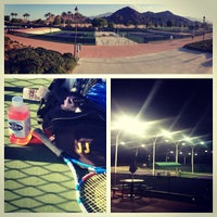 Photo taken at Indian Wells Tennis Garden by Brie C. on 4/27/2013