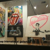 Photo taken at Pop International Galleries by Aly L. on 12/7/2015