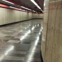 Photo taken at Metro Aquiles Serdán (Línea 7) by Mel B. on 9/29/2016