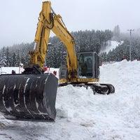 Photo taken at Intermedia Funivia Alpe Cermis by Claudio M. on 2/1/2014