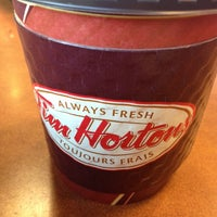 Photo taken at Tim Hortons by Neil D. on 1/23/2014