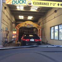 Photo taken at Quick Quack Car Wash by Sabrina Michele T. on 4/4/2014