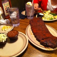 Photo taken at Corky's BBQ by Simon H. on 4/21/2013