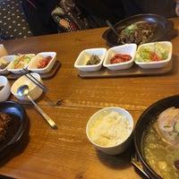 Photo taken at Eid (Korean Muslim Restaurant) by NSyahirah DY on 11/12/2016