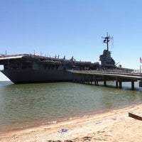 Photo taken at USS Lexington Museum On The Bay by Amanda R. on 9/21/2012