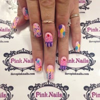 Photo taken at Pink Nails by Pink N. on 5/7/2015