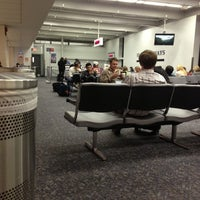 Photo taken at Gate B10 by Kevin H. on 12/11/2012